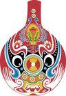 马勺脸谱0010,马勺脸谱,中国传统,