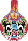 马勺脸谱0011,马勺脸谱,中国传统,