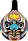 马勺脸谱0013,马勺脸谱,中国传统,