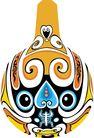 马勺脸谱0014,马勺脸谱,中国传统,