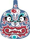 马勺脸谱0017,马勺脸谱,中国传统,