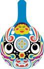 马勺脸谱0019,马勺脸谱,中国传统,