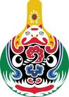 马勺脸谱0022,马勺脸谱,中国传统,昆剧 换脸 艺术