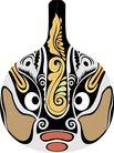 马勺脸谱0027,马勺脸谱,中国传统,