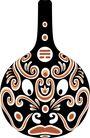 马勺脸谱0028,马勺脸谱,中国传统,