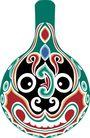 马勺脸谱0034,马勺脸谱,中国传统,