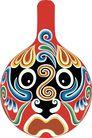 马勺脸谱0036,马勺脸谱,中国传统,