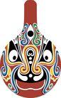 马勺脸谱0037,马勺脸谱,中国传统,