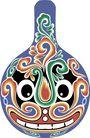 马勺脸谱0038,马勺脸谱,中国传统,
