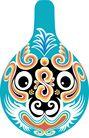 马勺脸谱0039,马勺脸谱,中国传统,