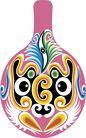 马勺脸谱0040,马勺脸谱,中国传统,