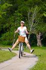 亲子休闲脚踏车0033,亲子休闲脚踏车,休闲,骑车 车篓 公园