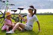 亲子休闲脚踏车0042,亲子休闲脚踏车,休闲,郊游