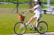 亲子休闲脚踏车0046,亲子休闲脚踏车,休闲,骑车玩耍