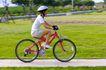 亲子休闲脚踏车0067,亲子休闲脚踏车,休闲,女孩 草坪 骑车