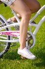 亲子休闲脚踏车0069,亲子休闲脚踏车,休闲,短裤 美腿 鞋子