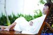 瑜伽休闲0076,瑜伽休闲,休闲,惬意 躺靠 睡椅