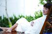 瑜伽休闲0077,瑜伽休闲,休闲,环顾 转移 注意力