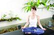 瑜伽休闲0095,瑜伽休闲,休闲,室内 盆景 瑜伽