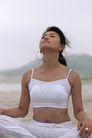 瑜伽运动0015,瑜伽运动,休闲,迎风 挺起 胸部