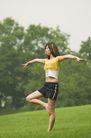 瑜伽运动0017,瑜伽运动,休闲,金鸡 独立 撑腿
