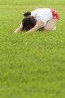 瑜伽运动0028,瑜伽运动,休闲,练习 草地 瘦身