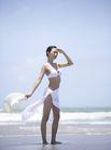 美丽海滩0023,美丽海滩,休闲,模特 比基尼 海水
