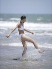 美丽海滩0034,美丽海滩,休闲,戏水 水花 浪花