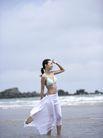 美丽海滩0048,美丽海滩,休闲,踏浪