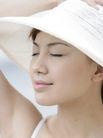 美丽海滩0070,美丽海滩,休闲,娇容 脸蛋 凉帽
