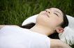 美丽青年0060,美丽青年,休闲,好天气 躺在草地上 闭目养神