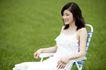 美丽青年0068,美丽青年,休闲,女郎 草地 躺椅