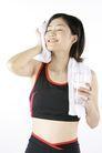 运动瘦身0008,运动瘦身,休闲,毛巾 擦试 汗水