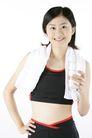 运动瘦身0034,运动瘦身,休闲,毛巾 好身材 白开水