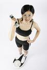 运动瘦身0050,运动瘦身,休闲,举着哑铃