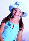 欢乐儿童0073,欢乐儿童,儿童,淡蓝 牛仔帽 扎辫