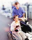 身体保养0027,身体保养,医疗,轮椅 检查 老人