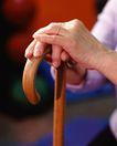 身体保养0029,身体保养,医疗,拐杖 一双老人的手 扶着