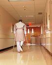 身体保养0039,身体保养,医疗,走廊 病人 行走