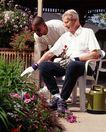 身体保养0040,身体保养,医疗,花园 植物 坐着