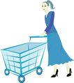 人物休闲0111,人物休闲,卡通人物,购物 妇女 主妇