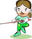 台球0009,台球,卡通人物,滑稽 武术 独立 搞笑 道具