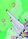 商业印象0010,商业印象,卡通人物,城市 建筑 未来 科技 天空
