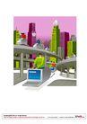 漫画商业人物0015,漫画商业人物,卡通人物,城市 现代 交通 网络 电脑
