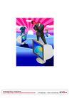漫画商业人物0023,漫画商业人物,卡通人物,屏幕 喇叭 宣传