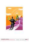 漫画商业人物0038,漫画商业人物,卡通人物,托盘 食物 道路