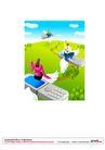 漫画商业人物0043,漫画商业人物,卡通人物,翅膀 手机