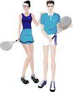 综合体育运动0018,综合体育运动,卡通人物,