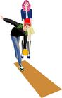 综合体育运动0025,综合体育运动,卡通人物,
