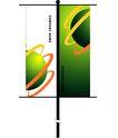 旗帜标示VI模板0110,旗帜标示VI模板,商业VI设计模板,